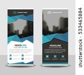 blue black triangle business...   Shutterstock .eps vector #533465884