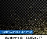 gold glitter powder particles... | Shutterstock .eps vector #533526277