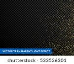 gold glitter particles vector... | Shutterstock .eps vector #533526301