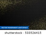 shining glow particles and... | Shutterstock .eps vector #533526415