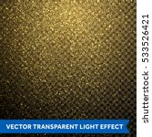gold glitter particles on... | Shutterstock .eps vector #533526421