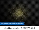 gold glitter particles on... | Shutterstock .eps vector #533526541
