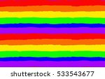 rainbow seamless pattern.... | Shutterstock .eps vector #533543677