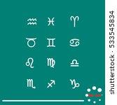 zodiac signs | Shutterstock .eps vector #533545834
