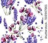 wildflower lavender flower...   Shutterstock . vector #533547001