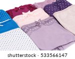 colorful panties  on white... | Shutterstock . vector #533566147