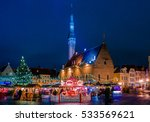 tallin  estonia   january 8 ... | Shutterstock . vector #533569621