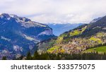 A Small Swiss Village Near The...