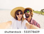 successful   traveling couple... | Shutterstock . vector #533578609