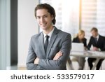portrait of young smiling...   Shutterstock . vector #533579017