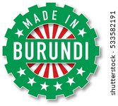 made in burundi flag color... | Shutterstock .eps vector #533582191