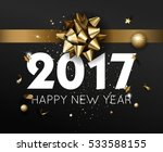 happy new year 2017 greeting... | Shutterstock .eps vector #533588155