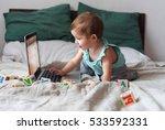 Baby Kid Toddler Playing...