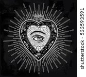 Ornate Mystic Eye Inside The...