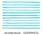abstract blue line watercolors... | Shutterstock . vector #533594521