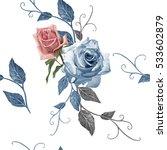 illustration of beautiful... | Shutterstock . vector #533602879