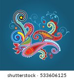 traditional ornamental... | Shutterstock .eps vector #533606125