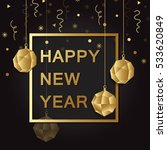happy new year  background.... | Shutterstock .eps vector #533620849