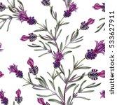 french lavender oil in... | Shutterstock . vector #533627911