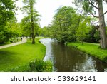 vondelpark  public urban park... | Shutterstock . vector #533629141