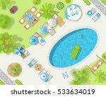 vector illustration. sunny... | Shutterstock .eps vector #533634019