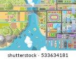 vector illustration. landscape... | Shutterstock .eps vector #533634181