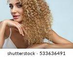 perfect hair. beautiful woman... | Shutterstock . vector #533636491
