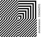 black lines on white background.... | Shutterstock .eps vector #533636551