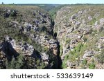 storms river gorge in... | Shutterstock . vector #533639149