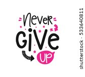 vector poster with phrase decor ... | Shutterstock .eps vector #533640811