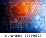 medical abstract background ....