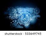 network community background .... | Shutterstock . vector #533649745
