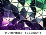 abstract 3d rendering of... | Shutterstock . vector #533650045