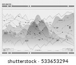 data analysis visualization.... | Shutterstock .eps vector #533653294