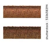 ground cutaway vector | Shutterstock .eps vector #533658394