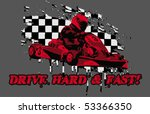 hard and fast | Shutterstock .eps vector #53366350