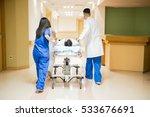 full length rear view of a...   Shutterstock . vector #533676691