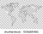 glass world map illustration   Shutterstock .eps vector #533685481