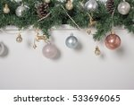 new year's toys balls | Shutterstock . vector #533696065