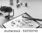 jewelry tools. jewellery.... | Shutterstock . vector #533703745