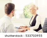 people working in a modern... | Shutterstock . vector #533703955