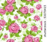 elegance seamless wallpaper... | Shutterstock .eps vector #53370415