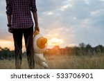 young man standing is solitary... | Shutterstock . vector #533706901