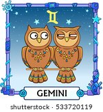 Zodiac Sign Gemini. Fantastic...