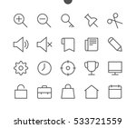 general ui pixel perfect well... | Shutterstock .eps vector #533721559