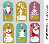 christmas labels   Shutterstock .eps vector #533722621