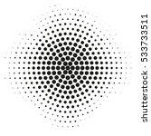 vector illustration. halftone... | Shutterstock .eps vector #533733511