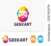 geek art  people  man  unique ... | Shutterstock .eps vector #533741974