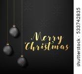 abstract christmas winter... | Shutterstock .eps vector #533742835