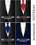 business card template. set....   Shutterstock .eps vector #533753161